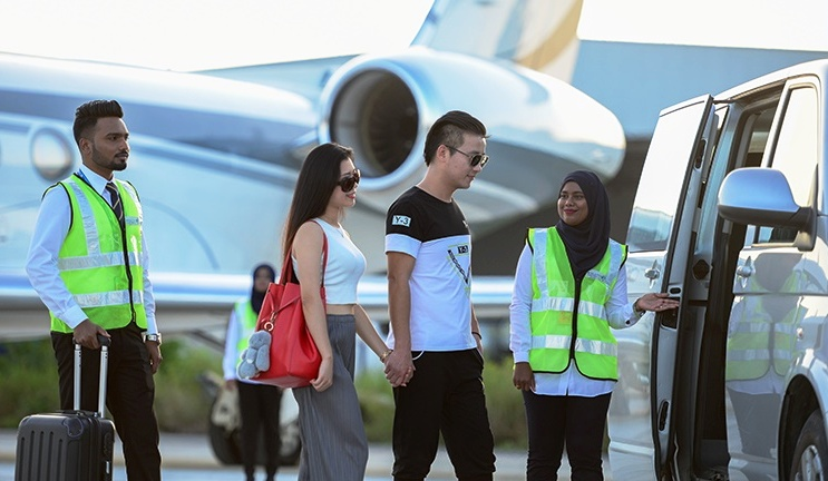 Maldives VVIP Tarmac Transfer